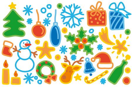 Christmas Collection Stock Vector - 6636187