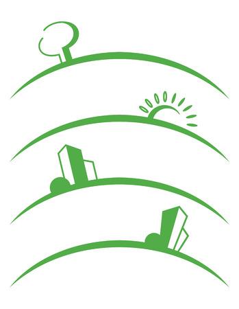 Symbols of skyline
