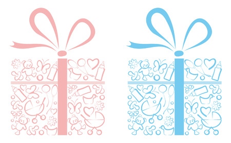 Gifts for newborns Vector
