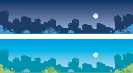 Cityscapes Stock Vector - 6636264