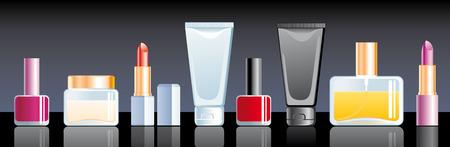 Cosmetics Stock Vector - 6636321