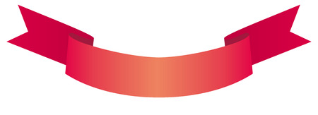 Red ribbon Stock Vector - 6636217