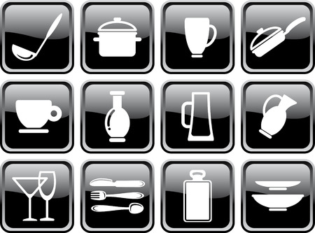 Kitchen ware Stock Vector - 6636288