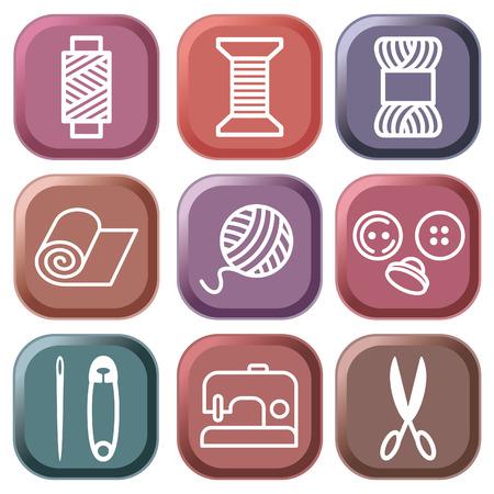coser: S�mbolos de costura y bordados