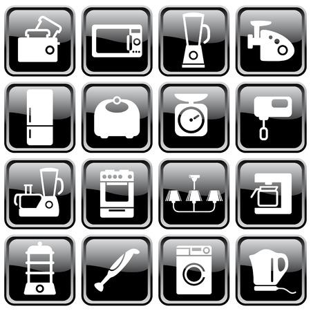 Kitchen home appliances Stock Vector - 6636308