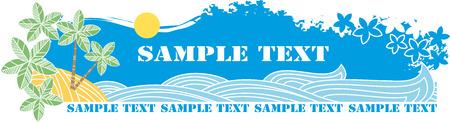 Tropical Beach  Stock Vector - 6636441