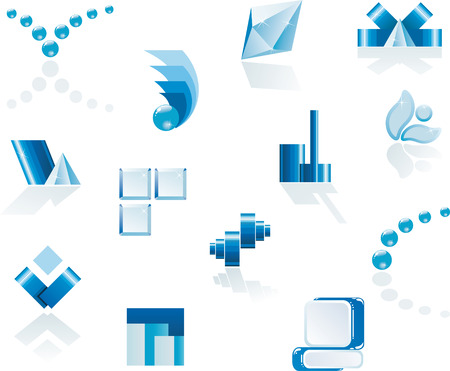 logo &, design elements