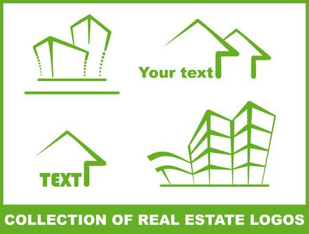 Green logos Stock Vector - 6636471