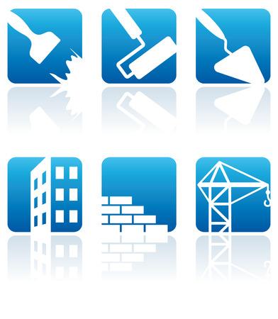 repairing: Building, construction and furnish symbols