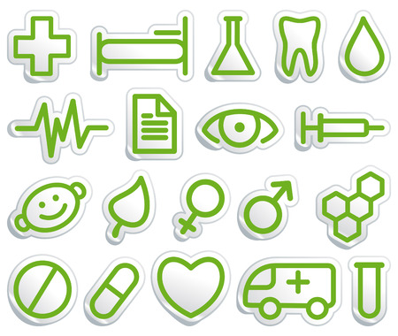 pharmacy equipment: Medical symbols