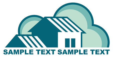 Real estate symbols Stock Vector - 7164037
