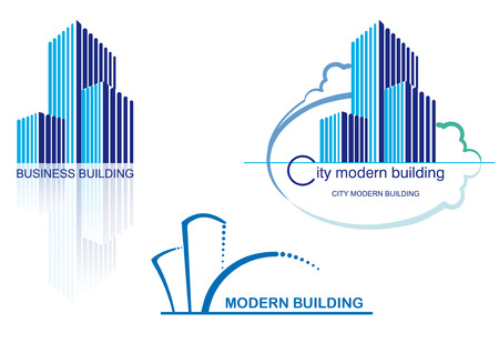 construction logo: Urban icons