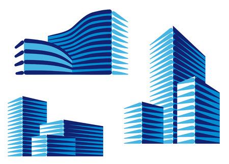 logo casa: Icone urbane  Vettoriali
