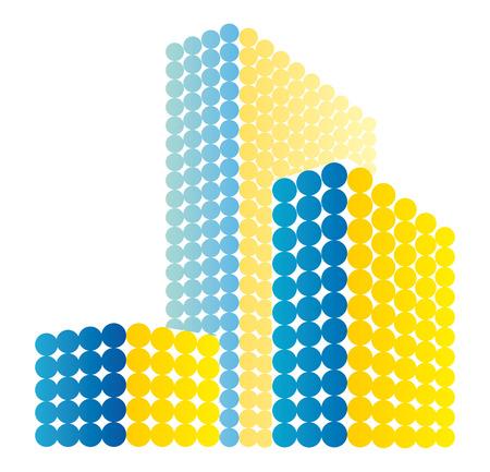Real estate symbol Stock Vector - 7722939