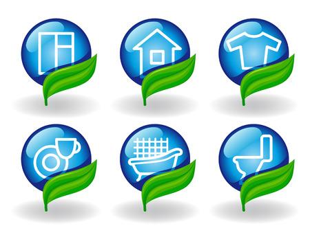 detersivi: Simboli di pulizia e articoli
