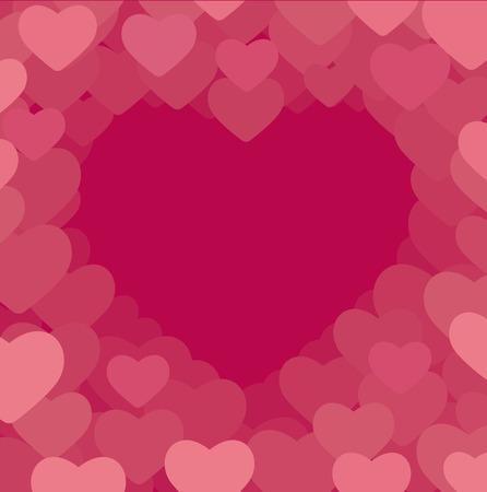 Romantic background Stock Vector - 8387999