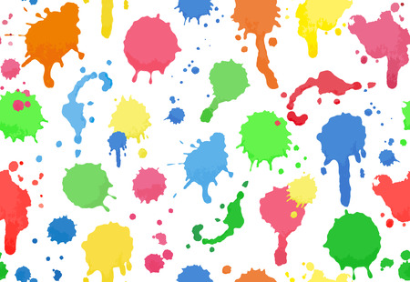 splotches: Seamless background of colour drops
