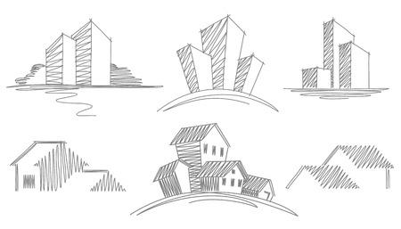 Binaların skeçler
