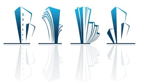 Real estate symbols Stock Vector - 9565015