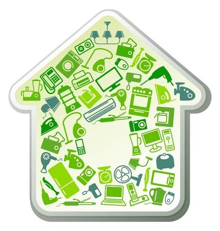 Huishoudelijke apparatuur voor huis