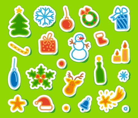 Christmas Collection Stock Vector - 10543653