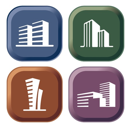 House icon collection Stock Vector - 10617827