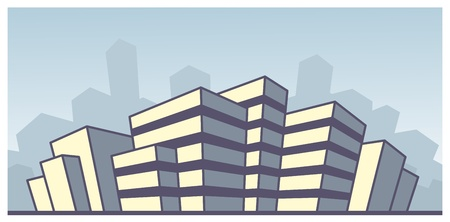 City building Vector