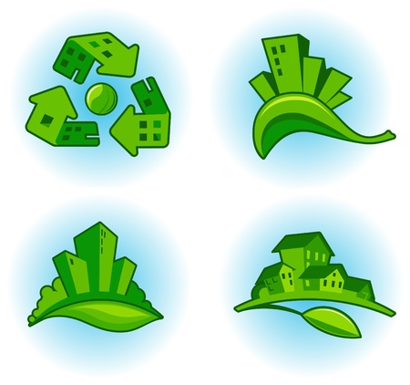 City ecology Vector