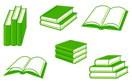 book icon: Books