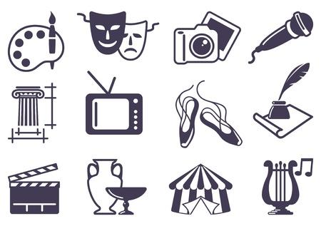Kültür ve Sanat Illustration