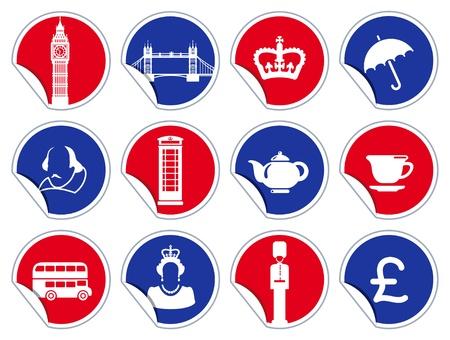 bandiera inglese: Simboli di Inghilterra e Londra