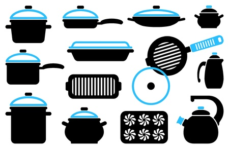 Kitchen ware Stock Vector - 17754099