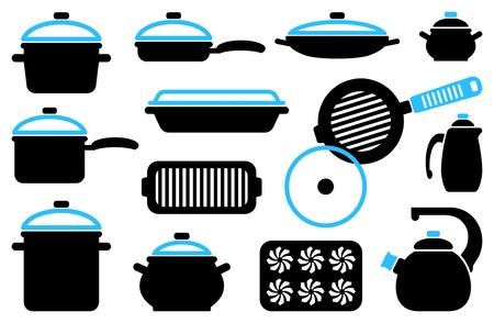 Kitchen ware Stock Vector - 17754099