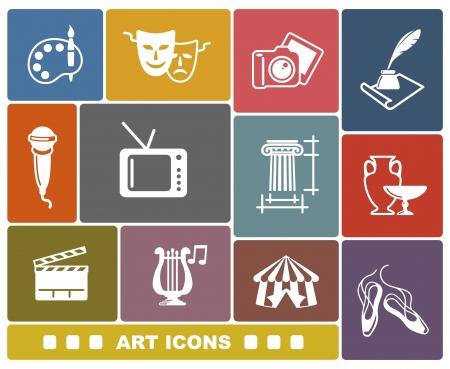 Art icons 일러스트