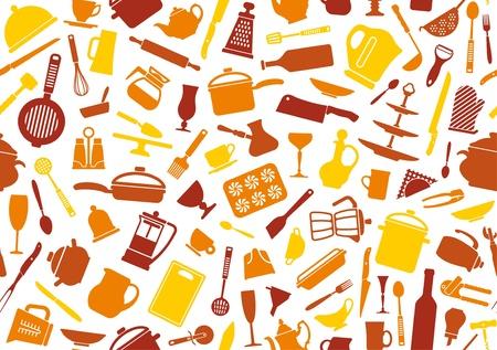 cuisine: Cooking fond Illustration