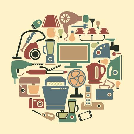 home appliances: Electrodom�sticos