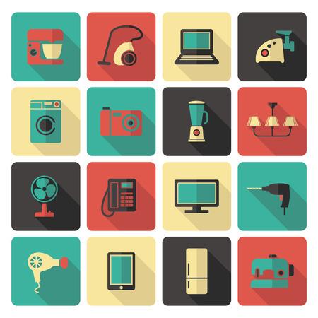 electrical appliances: Home appliances Illustration