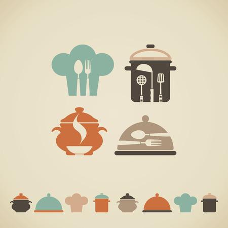 Cooking symbols Illustration