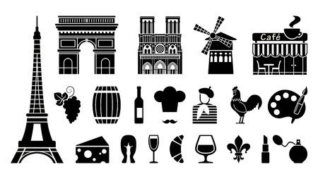 rouge: Symbols of France