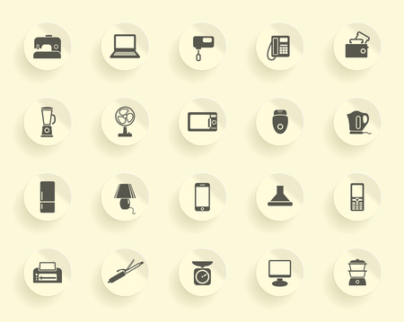 double boiler: Home appliances icons