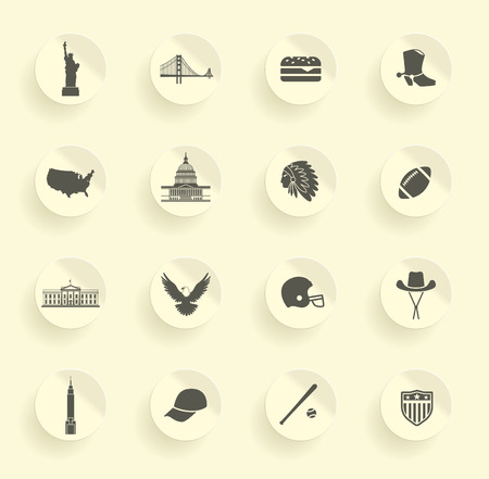 Symbols of the USA Imagens - 33897528