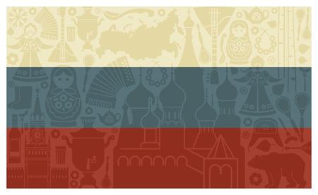 sundress: Flag of Russia