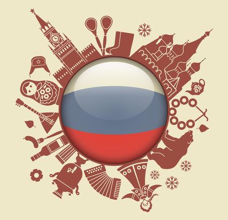 Symbol of Russia Imagens - 39087932