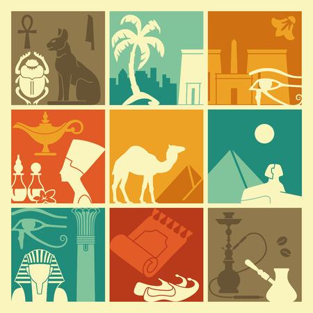 egyptian pyramids: Egyptian symbols