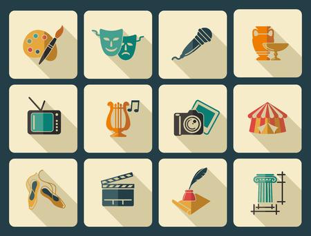 literature: Iconos del arte