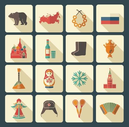 matreshka: Russian icons Illustration