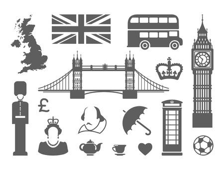 símbolos tradicionales de la arquitectura y la cultura de los Estados Unido