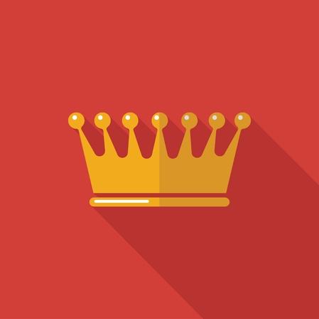 royal: symbol of the Royal crown. Illustration