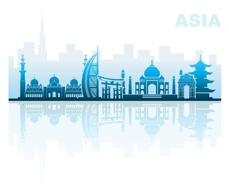 アジア建築のランドマーク