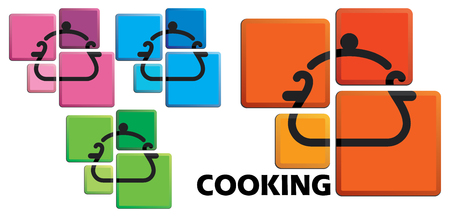 The cooking pan image on buttons
